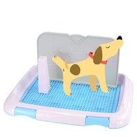 dog toilet column heighten the fence on one side to prevent urine splashing simple instruction easy to learn detachable column