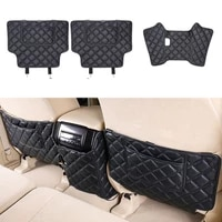car rear seat anti kick pad rear seats cover back armrest protection mat for toyota land cruiser prado 150 2019 accessories