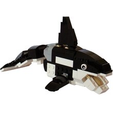 Créatures de la mer profonde support de requin épaulard requins Figure blocs de Construction jouets de Construction jouets dassemblage pour enfants cadeaux