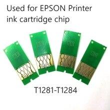 Caractéristiques multiples cartouche dencre T1281-T1284 puce ARC pour imprimante à jet dencre S22 SX125 SX130 SX235W SX420W SX440W SX430W