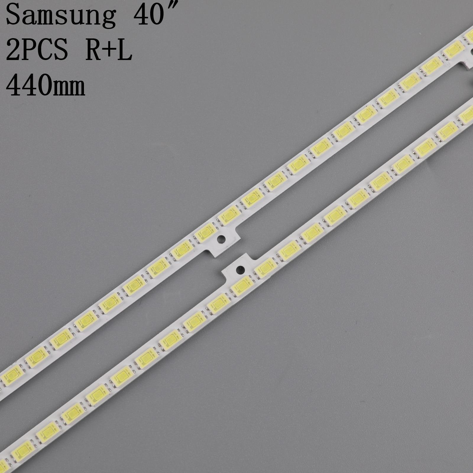 """18PCS Backlight strip For SamSung 40 """"TV UE40D5000 UA40D5000 BN64-01639A LTJ400HM03-h 2011SVS40 FHD 5K6KH1 UE40D5700 UE40D6100 enlarge"""