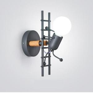 Светильник Светодиодный настенный в стиле ретро с зеркальной подсветкой, Е27