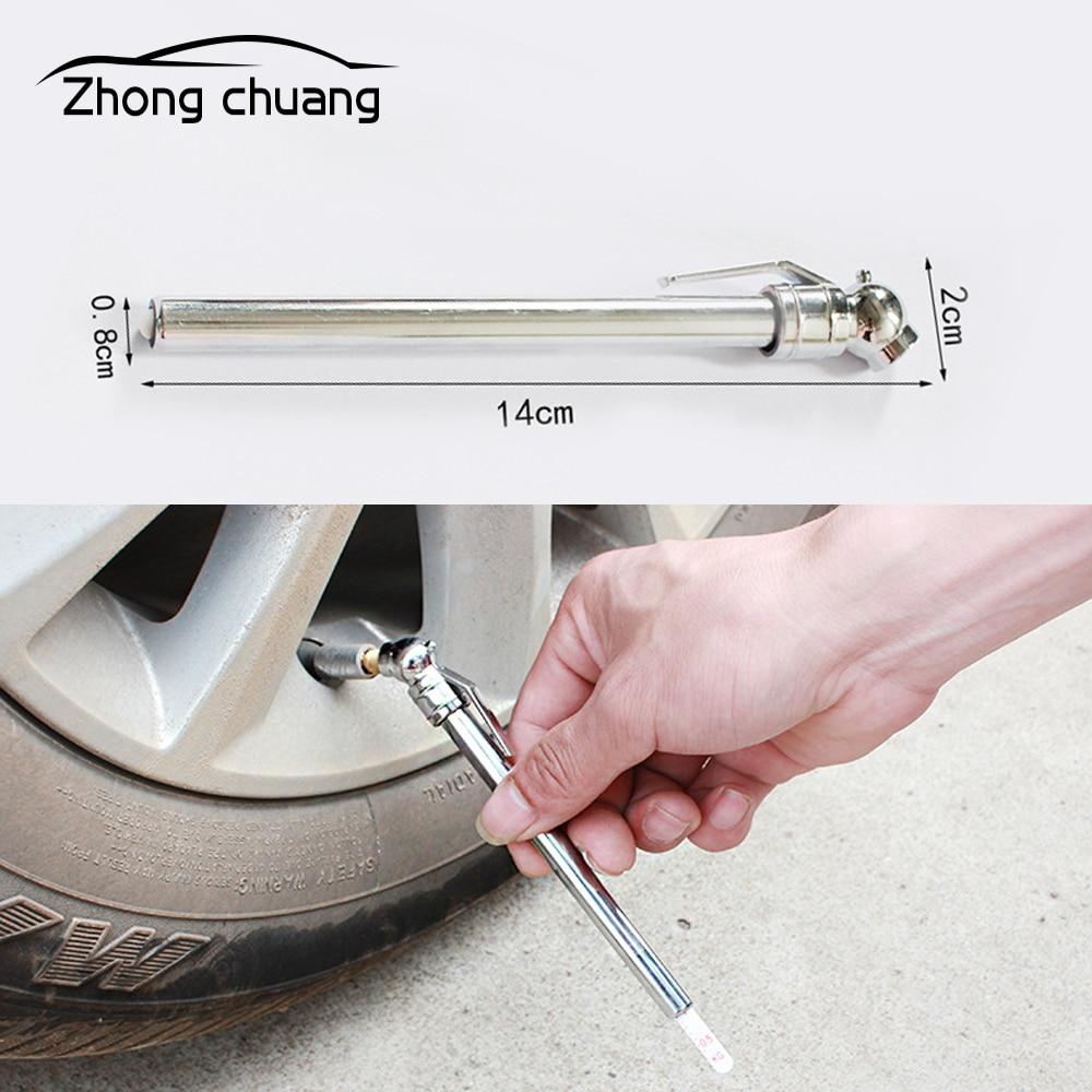 Carro caneta de pressão dos pneus carro portátil medidor de pressão dos pneus barômetro medidor de pressão dos pneus ferramenta de medição