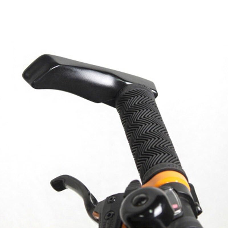 Ergonomia liga de alumínio guiador barend apertos para mtb estrada mountain bike bicicleta grip bar final ciclismo acessórios