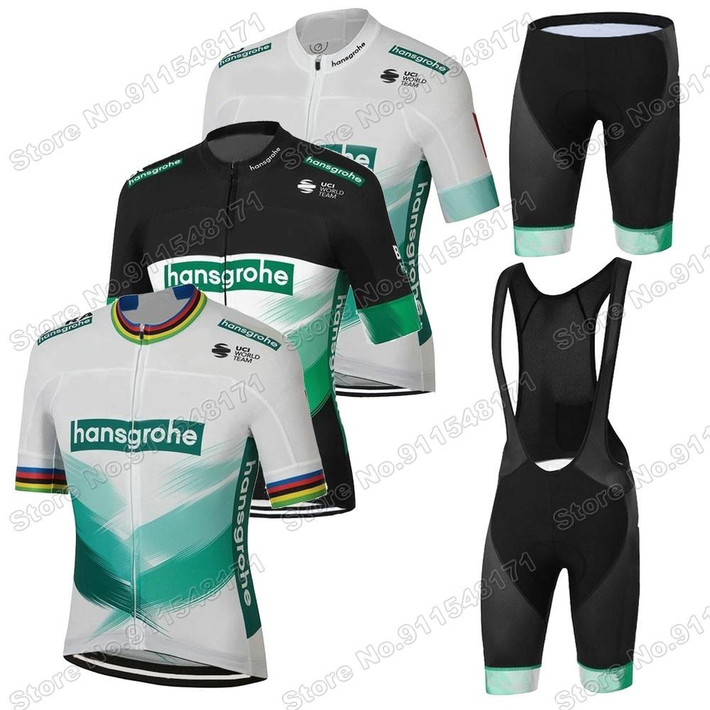 Boraful-Conjunto de Ropa de ciclismo del equipo Hansgrohe, camisetas para bicicleta de...