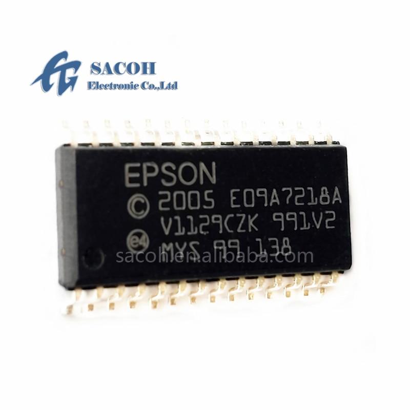 2 개/몫 새로운 OriginaI E09A7218A E09A7218 또는 E09A54RA 또는 E09A41RA SOP-28 프린터 드라이버 IC