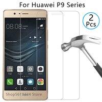 Чехол для huawei p9 lite 2016 2017 plus, чехол из закаленного стекла на p 9 light p9lite p9plus, защитный чехол для телефона huwei hawei