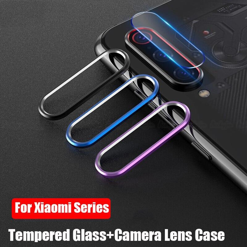 Для XiaomiMi 10 9 9SE 9T 9Lite Note 10 CC9 K20 Pro чехол для объектива камеры защитное кольцо для экрана для Xiaomi Mi CC9E A3 Lite