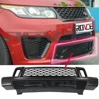 for land rover range rover sport svr 2014 2015 2016 2017 front grille mesh side vent hood cover trim kits lr062303