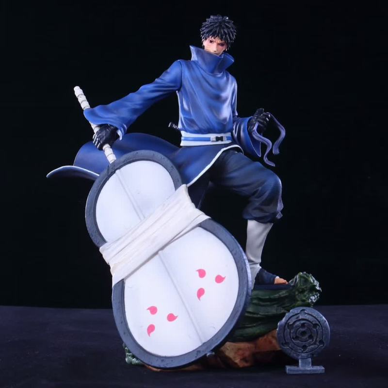 Dessin animé Naruto Shippuden uchiha Obito Tobi Akatsuki Uchiha Madara PVC figurine modèle Collection figurines jouets cadeau 31cm