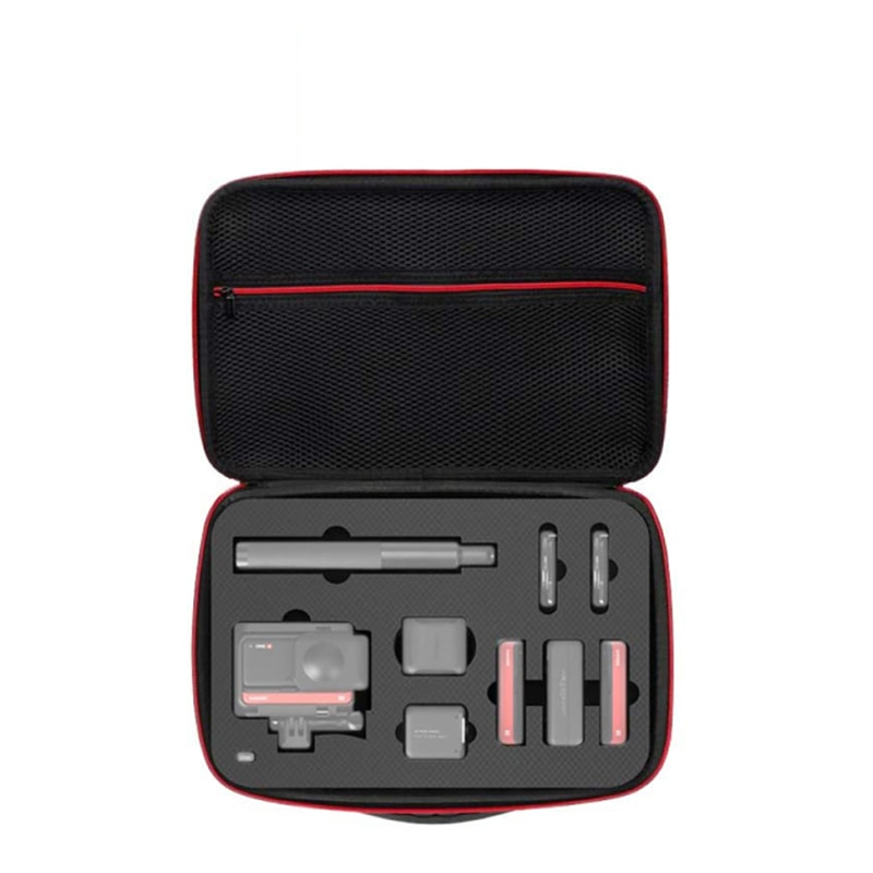 Сумка для экшн-камеры Insta360 ONE R, чехол для переноски с ремешком, Портативная сумка для хранения для Insta360 ONE R, аксессуары для камеры