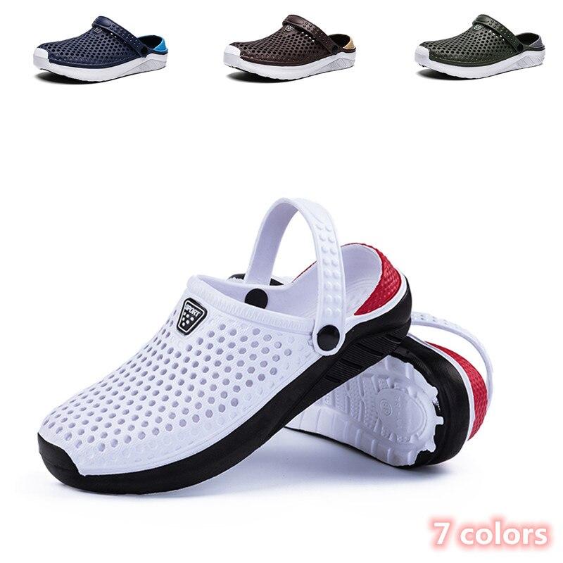 Unisex Summer Beach Sandals Ladies Clogs Slipper Men Flat Anti-Slip Flip Flops for Women