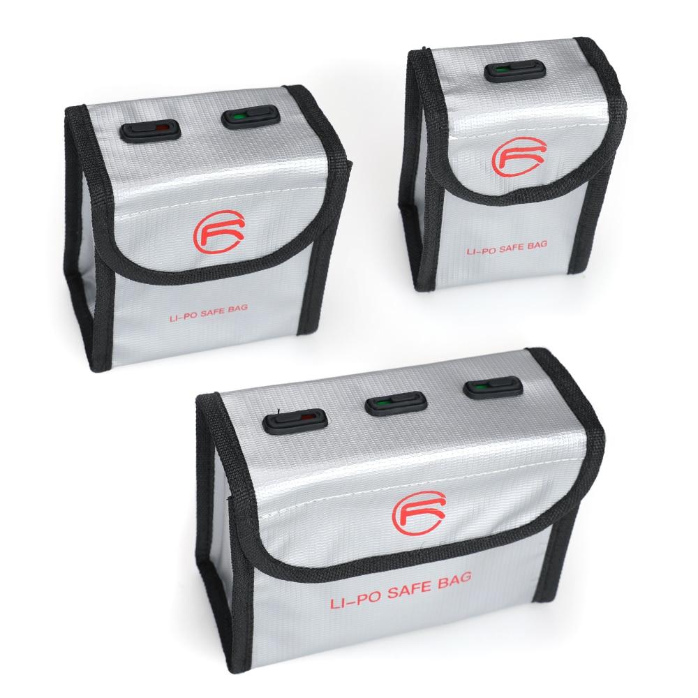 Upgrade DJI FPV Battery Storage Bag Drone Intelligent Flight Battery Lipo Safe Bag Explosion-Proof P