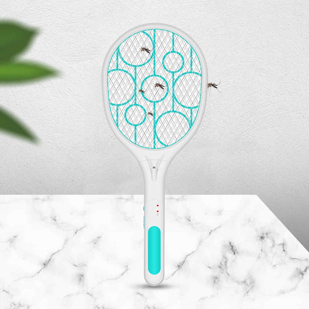 Racket Insects Killer Stun Useful USB Charge Electric Fly Mosquito Swatter Bug Zapper Tennis Racket Insects Killer