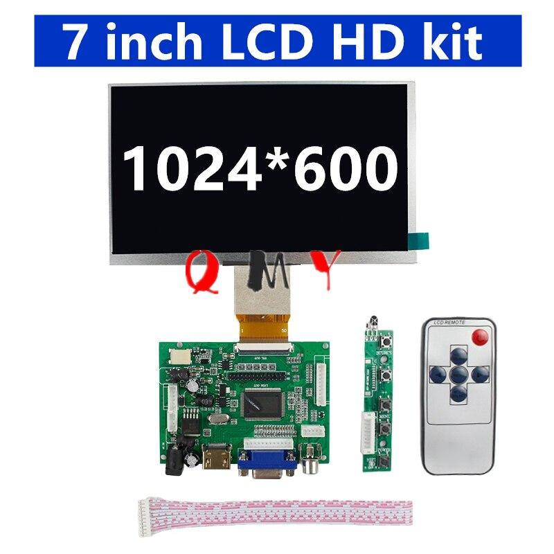 Tablero de la pantalla del conductor LCD ips de 7 pulgadas, 8 pulgadas, 9 pulgadas, 40 p50p HD, Raspberry Pi, pantalla HDMI, kit VGAAV