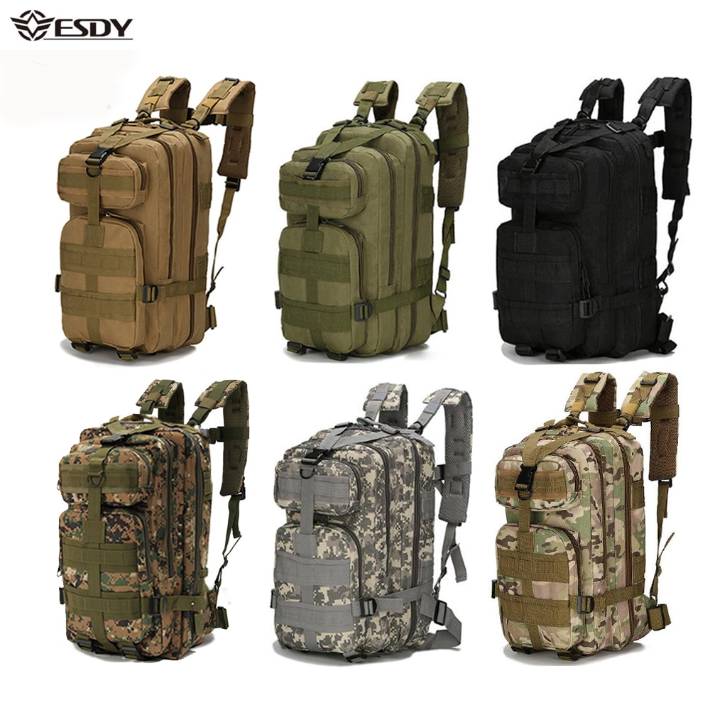 Outdoor Military Rucksacks 1000D Nylon 30L Waterproof Tactical backpack Sports Camping Hiking Trekki