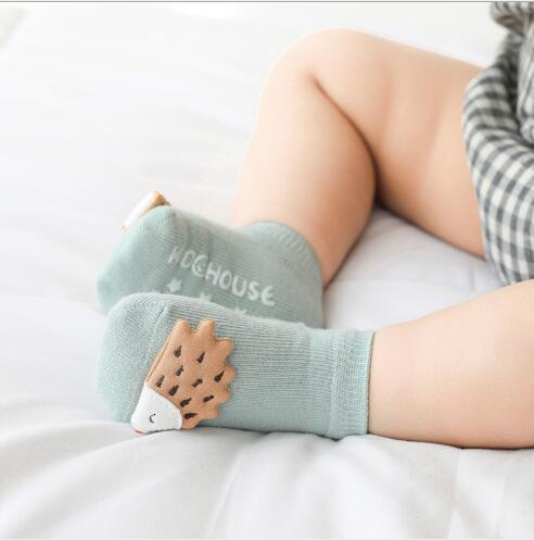 Весенне-летние новые детские носки Мультяшные животные аксессуары детские носки дозирующие Нескользящие Детские носки хлопковые носки дл...