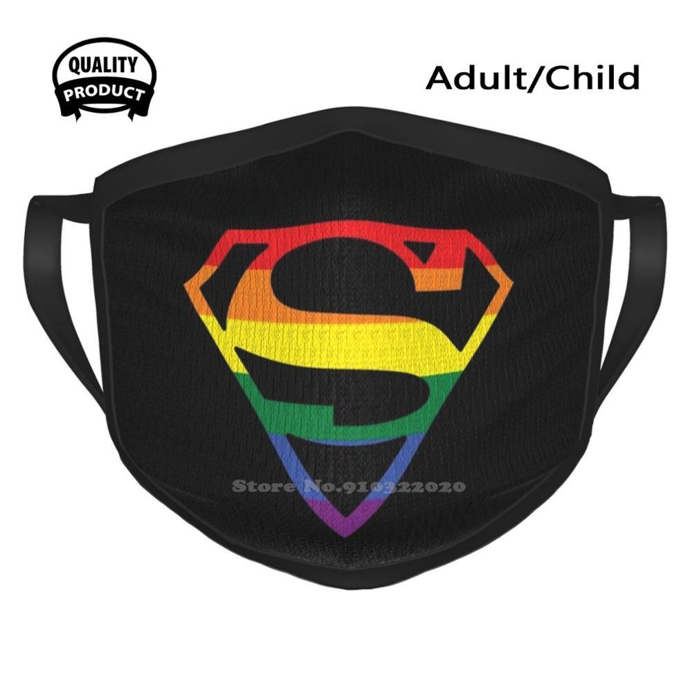 Máscara de superhéroe Lgbt Crest, superhéroe, Arrowverse, Supercorp, Sanvers