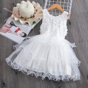 Girls' summer dress sleeveless poncho dress