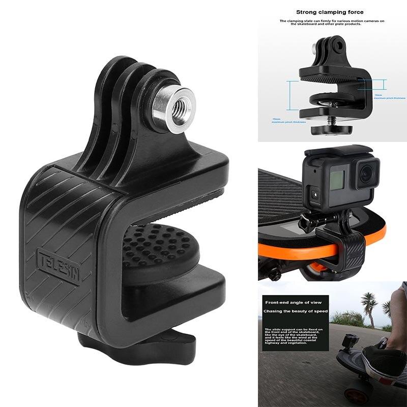Gopro accesorios monopatín motocicleta manillar giratorio abrazadera soporte para GoPro Hero acción Cámara Gop