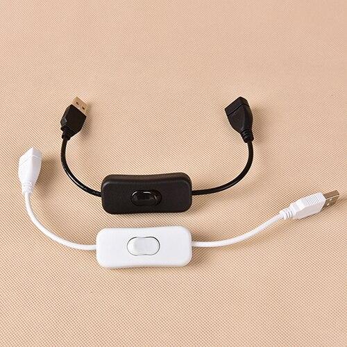 Woopower-Cable USB macho a hembra de Material de cobre, interruptor de encendido...