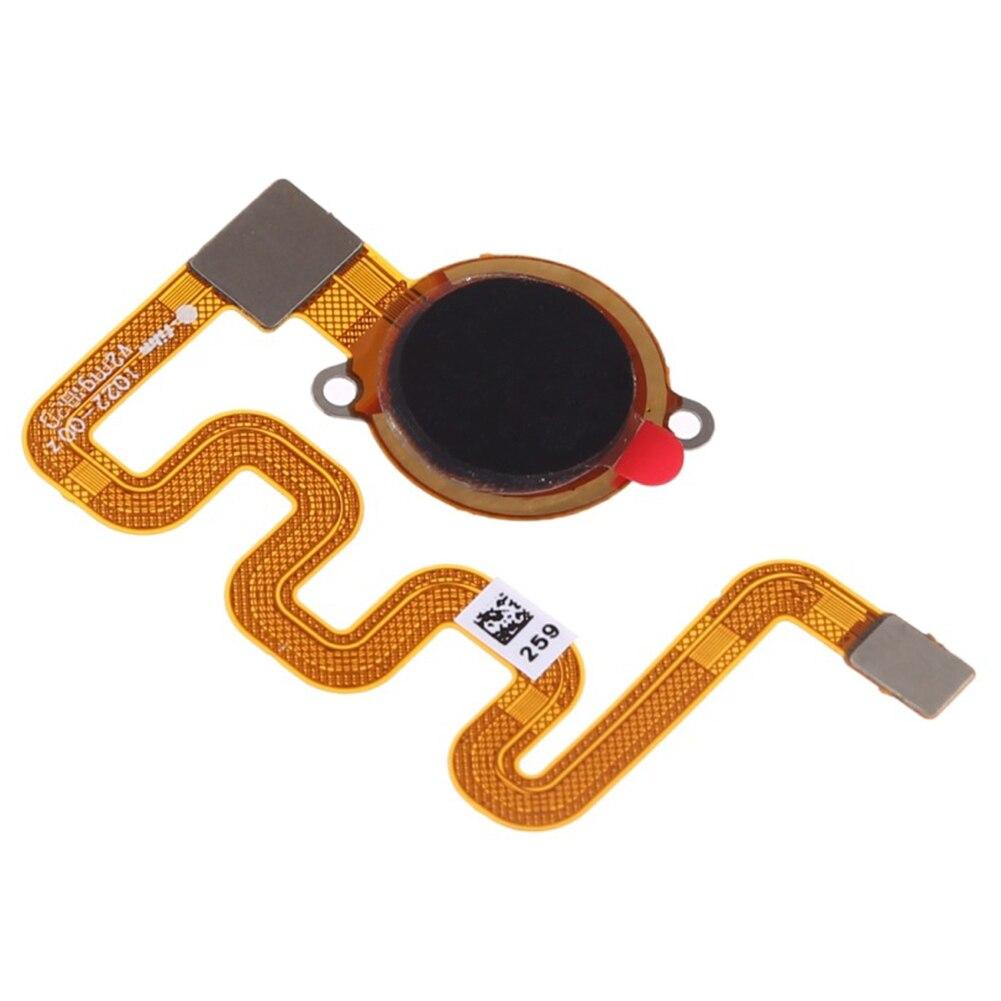 Piezas de repuesto para reparación, Conector de teléfono móvil, módulo de repuesto, botón de inicio, Cable Flexible, Sensor de huellas dactilares para Redmi 6 Pro