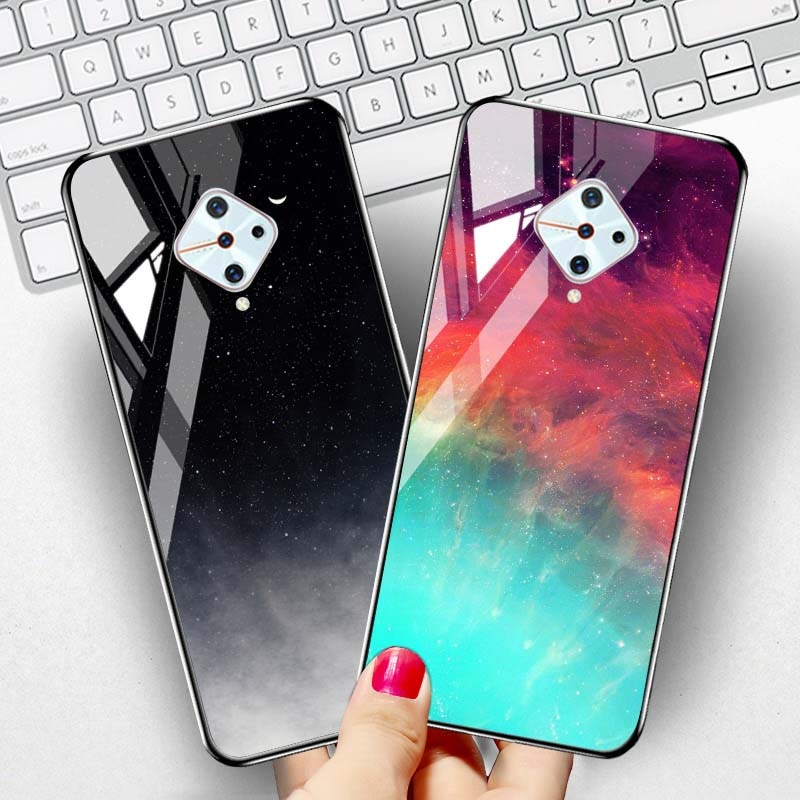 3d diy soft silicone case for vivo nex a case coque for vivo nex a cover flamingo painted case back cover for vivo nex a fundas Starry Sky Tempered Glass Case for Vivo Y11 2019 V17 S1 Pro Y9S Nex 3 Cases Luxury Silicone Cover On Vivo V9 Y85 IQOO Covers