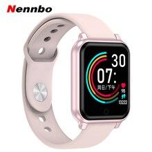 B58 montre intelligente hommes femmes fréquence cardiaque surveillance de la pression artérielle B57 Plus Q9 P68 Smartwatch Fitness Tracker pour iPhone Xiaomi