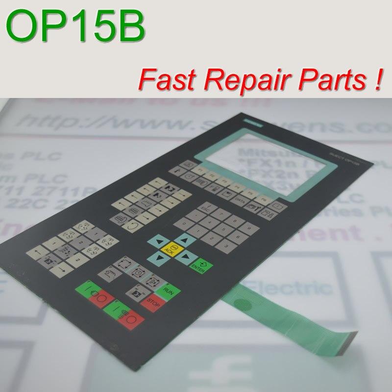 SIJECE OP15 6AT1 131-5BB20-0XA0 اللمس الزجاج و غشاء لوحة المفاتيح ل HMI لوحة إصلاح ~ تفعل ذلك بنفسك ، دينا في المخزون