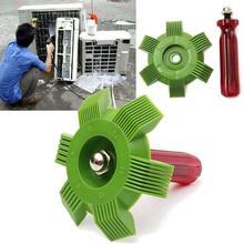 Radiator Comb Evaporator Air-conditioning Cleaner Tools Universal Auto Car Plastic A/C Condenser Fin Straightener Rake Cleaner 4
