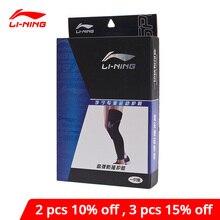 Li-Ning Unisex Professional Knee Cushion Pad Sleeve 53%SBR 39%Nylon 8%Spandex LiNing li ning Sport Knee Protector AXWN062 ZYF271
