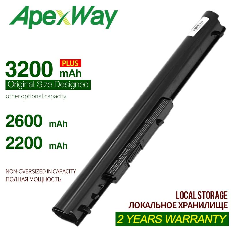 ApexWay batería para ordenador portátil, baterías para HP 240 G2 CQ14 CQ15 OA04 HSTNN-PB5S HSTNN-LB5S 740715-001 15-h000 15-S000