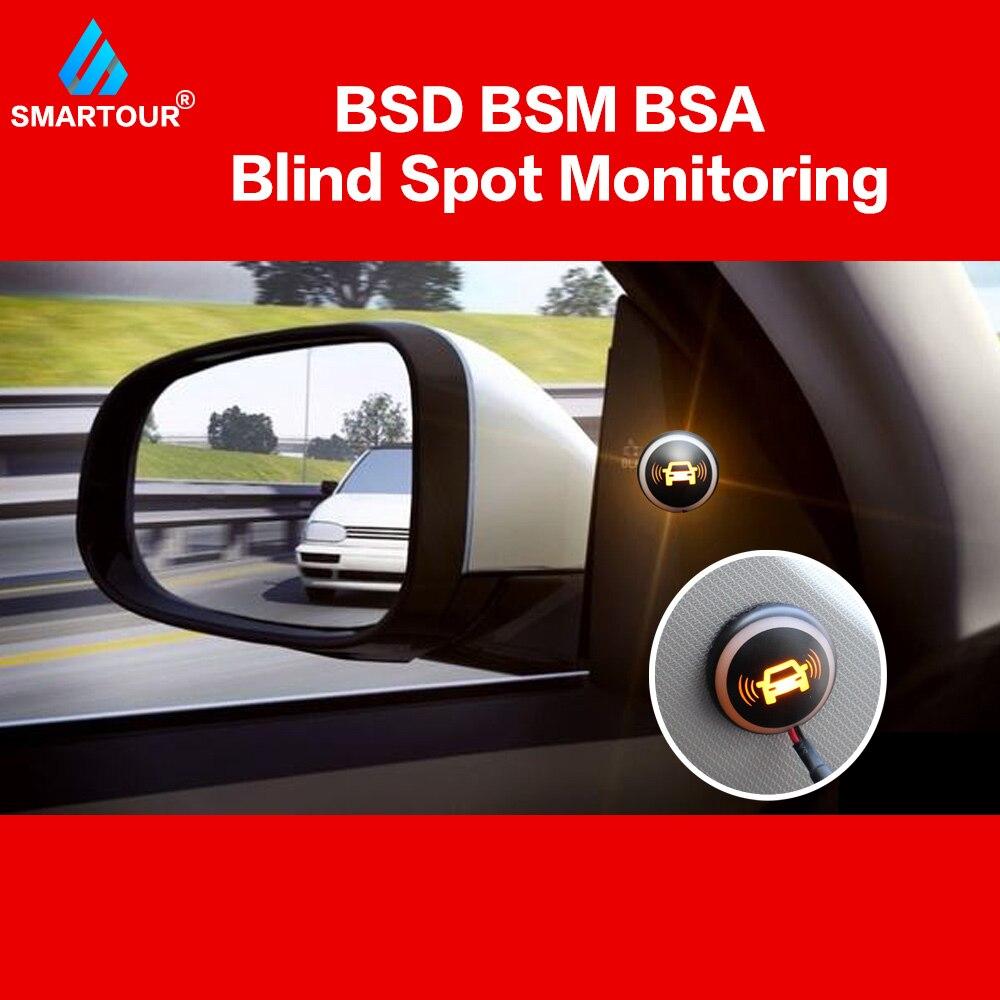 Система обнаружения радаров для автомобиля Smartour BSD BSA BSM микроволновый монитор для слепых зон Радар-детекторы с сигнализацией