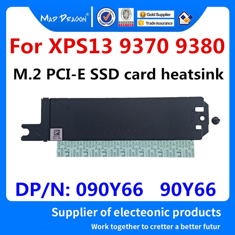 MAD DRAGON абсолютно новый M.2 PCI-E SSD Поддержка кронштейна адаптера для хранения карт радиатора для Dell XPS13 9370 XPS 13 9380 090Y66 90Y66