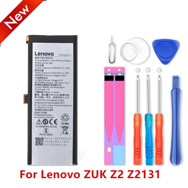 NEW BL268 3500mAh Battery for Lenovo zuk Z2 Z2131 Mobile Phone Batteries