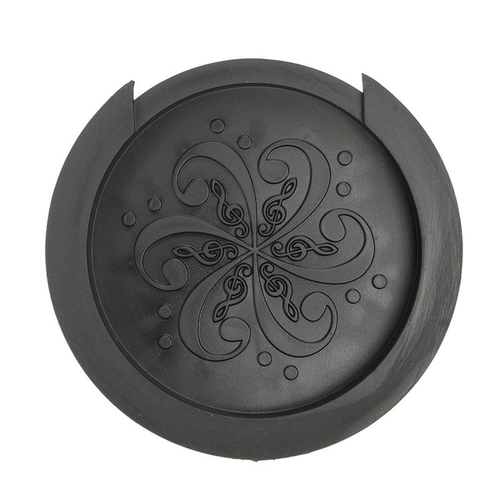 Глушитель гитарный глушитель acceaaaories акустический черный/коричневый силиконовый бесшумный музыкальный инструмент крышка часть звукового ...