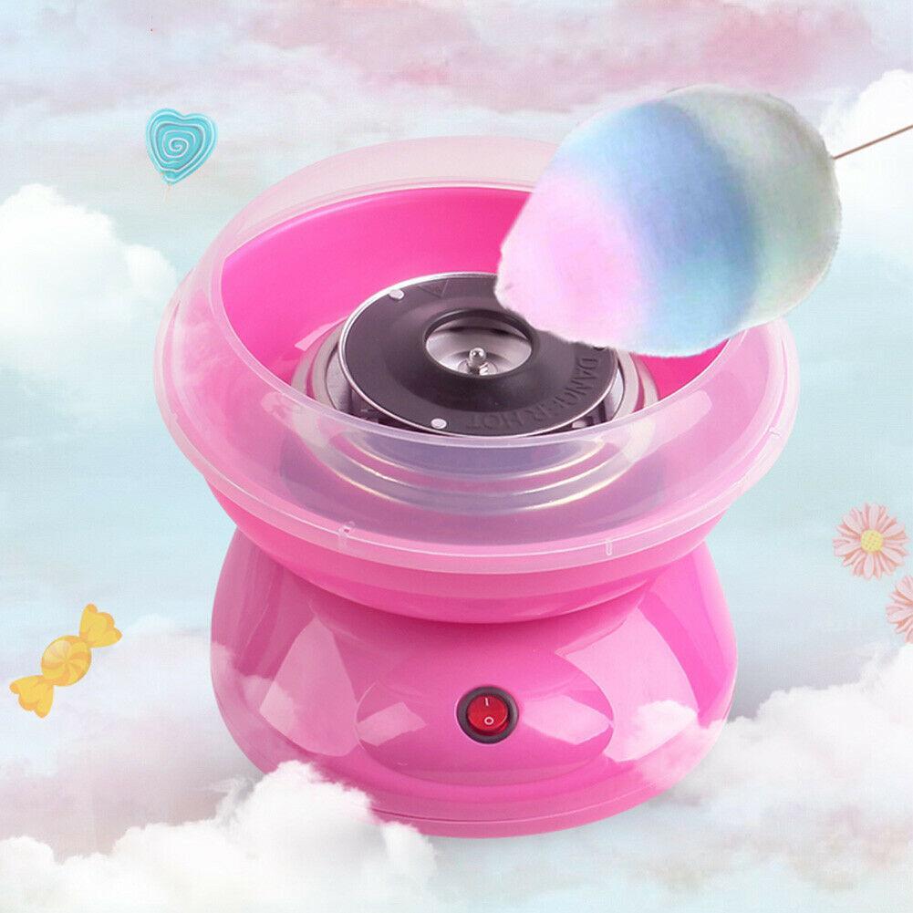 المحمولة الكهربائية DIY بها بنفسك الحلو القطن صانع الحلوى نسج السكر آلة الأطفال فتاة بوي هدية آلة