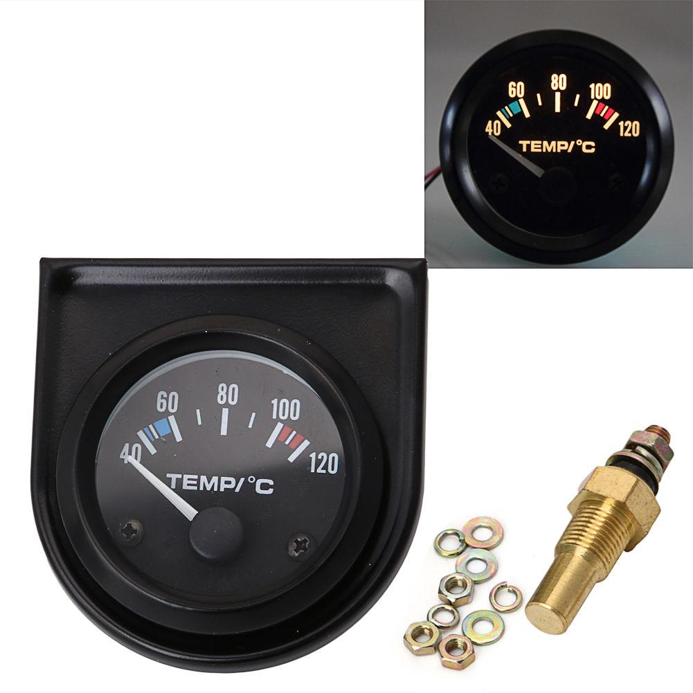2 polegada/52mm 12v carro digital medidor de temperatura temperatura sensor acessórios do carro