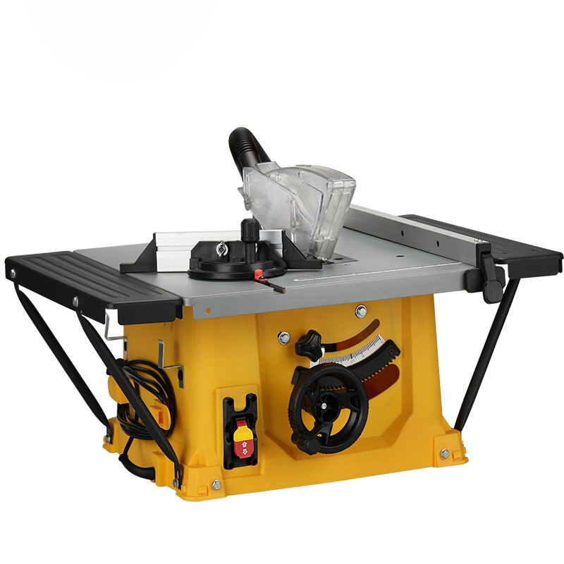 8 Inches Multifunction Woodworking Table Saw Floor Saw Electric Cutting Machine Miter Cut Panel Saw Flip Saw Home Dust-Free Saw