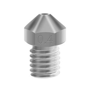 T-V6 Plated Copper Nozzle Durable Non-stick High Performance For 3D Printers M6 Thread For E3D V6 Dragon Hotend Print Accessory