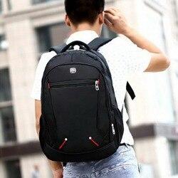 À prova dwaterproof água sólida grande mochilas homens portátil preto mochila homem viagem bagpack adolescente bookbag oxford à prova dwaterproof água 2019 novo