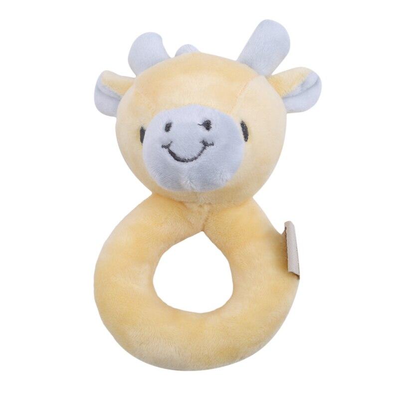 fawn forma bebe handbell brinquedo dos desenhos animados animal pendurado anel chocalho