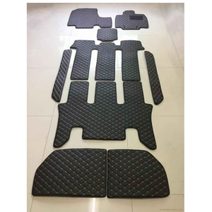 Custom full set car floor mats for Honda Step WGN Stepwagon RG1 RG3 RK1 RK5 RP 7 8 seats 2020-2005 waterproof durable carpets