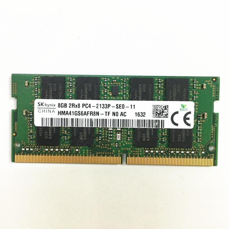 SKhynix DDR4 RAM 8GB 2133 RAMS 8GB 2RX8 PC4-2133P-SE0 DDR4 la memoria...