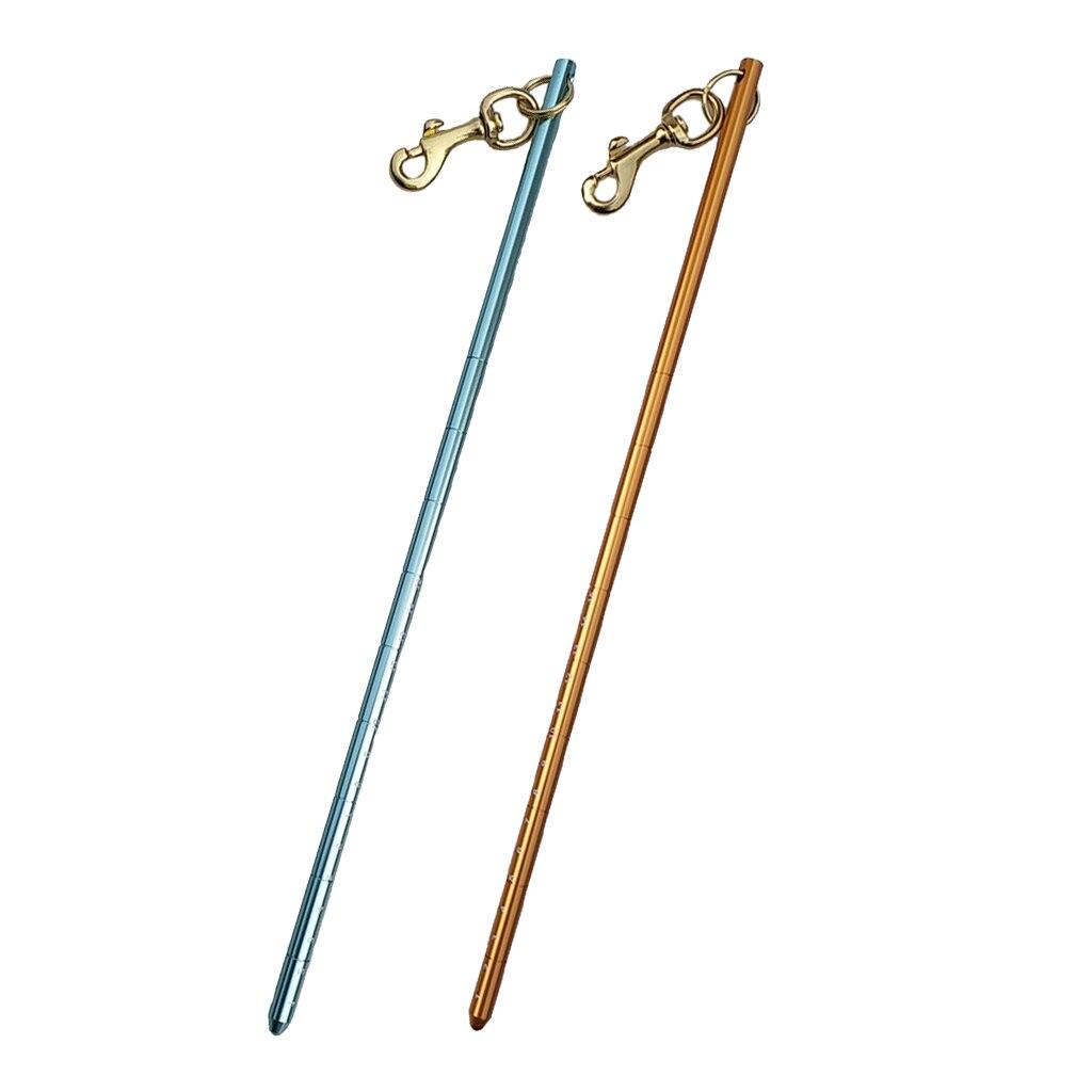 Langosta, palo para cosquillas con perno, Clip de presión, coctelera subacuática, fabricante de ruido, accesorios de buceo, verde, naranja