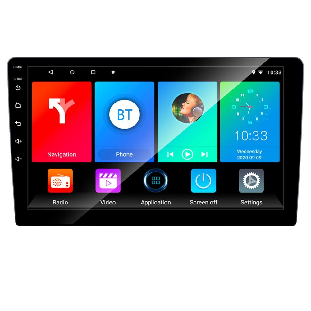 Автомобильный радиоприемник, 9 дюймов, Android 2021, 2 ГБ + 32 ГБ, GPS, Wi-Fi, Bluetooth, совместимый мультимедийный видеоплеер, новейшая карта, Sat автомобиль, 9,...