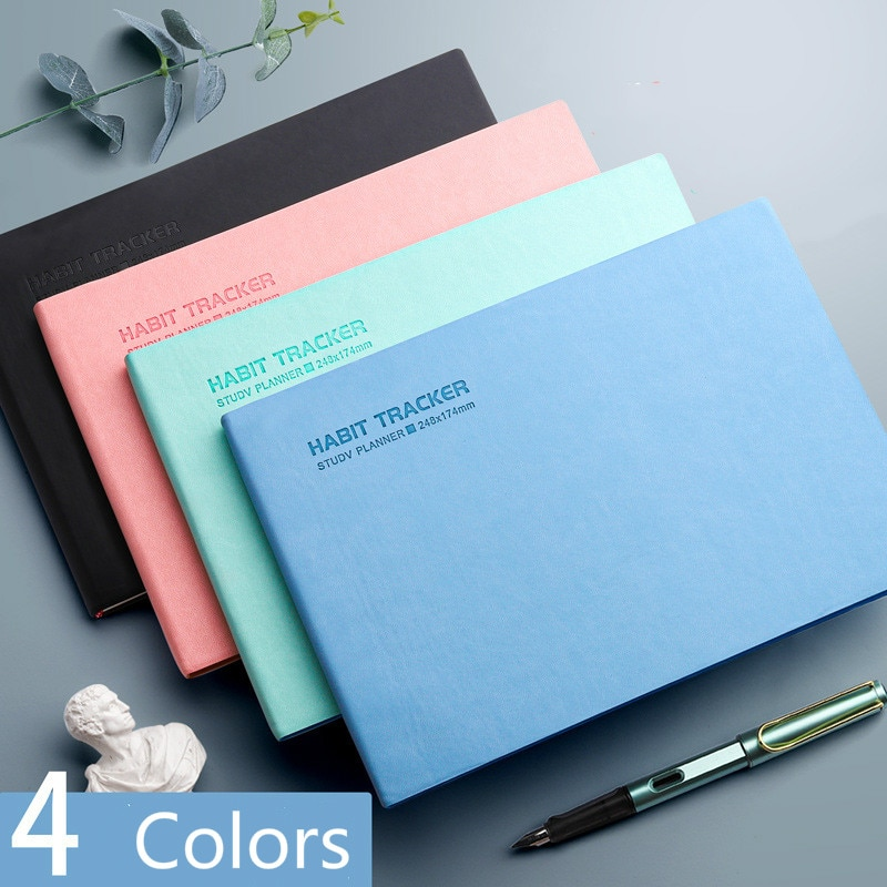 2021 School Office Daily Weekly Monthly Planner Notebook Soft Leather Agenda 2020 2021 Schedule Diary Journal Notepad