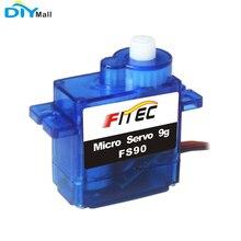 Feetech FS90 Micro Servo 9g 6V 1.5kg.cm analogique 360 degrés en plastique engrenage Servo analogique pour Robot RC