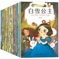 20pcslot chinese and english bilingual mandarin story book classic fairy tales bedtime story book for children kids