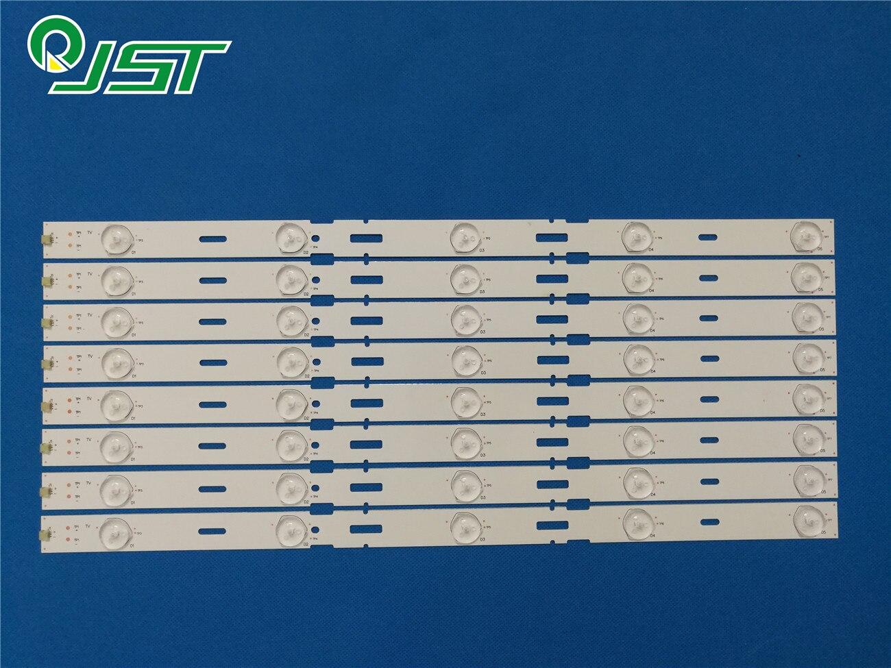 100% nuevo 8pcs/Kit de tiras LED para GRUNDIG 40 TV 40VLE525 40VLE525BG LSC400HM09 A02 SAMSUNG 2013ARC40 3228N1 5 REV1.1